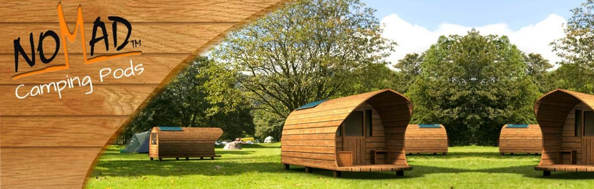 Camping Pods for Glamping and Camping